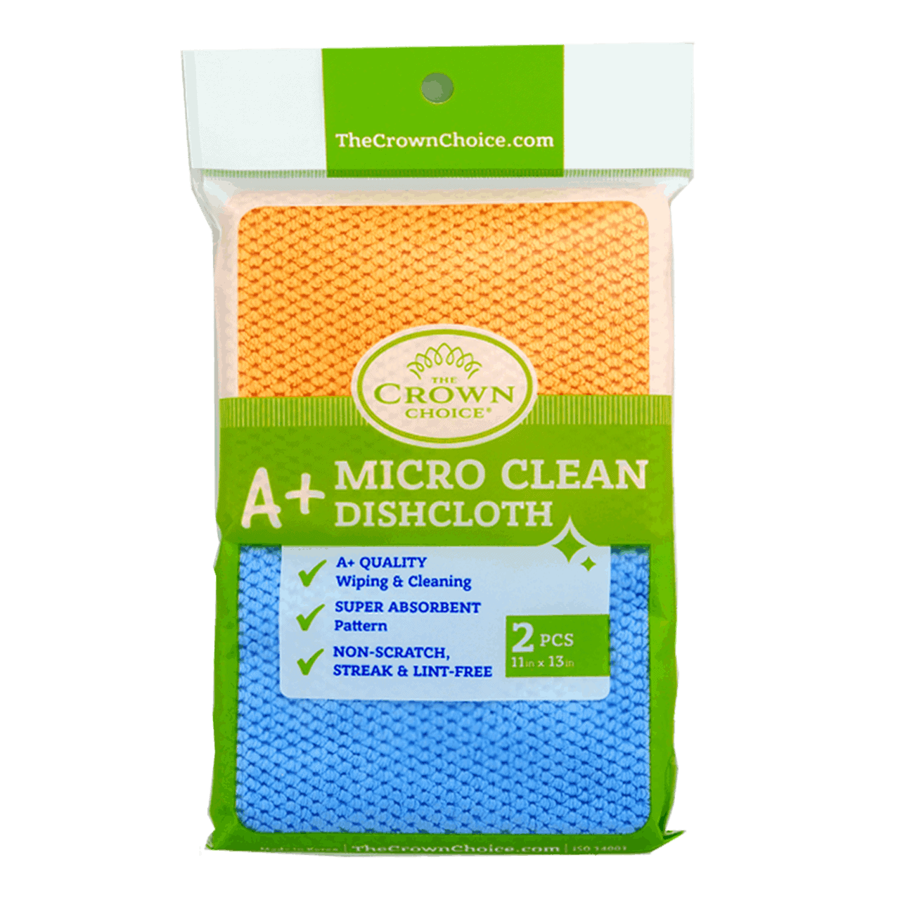 Pot Scrubber A+ Micro Fiber Dish Cloth