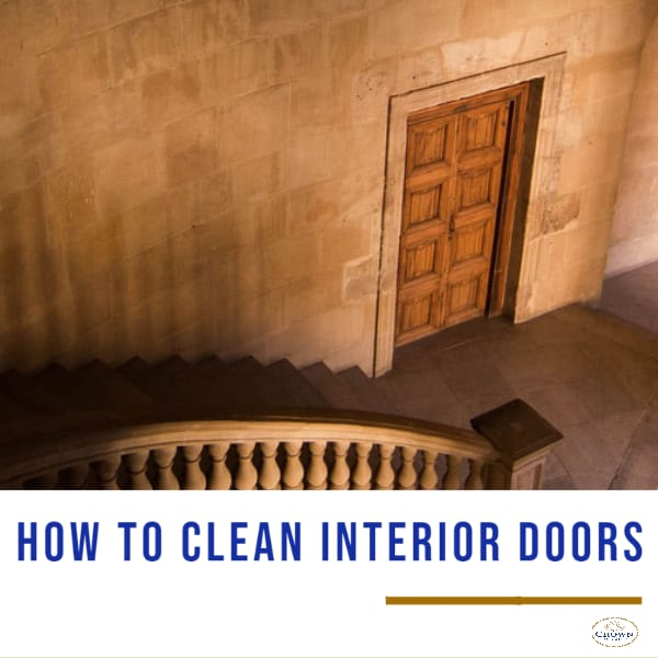 How to Clean Interior Doors made of wood