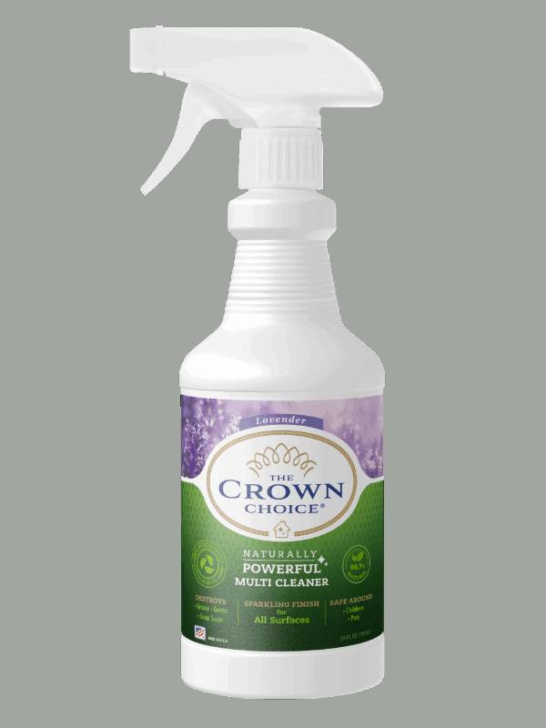 Lavender Multi Purpose Cleaner -The Crown Choice Multi Purpose Cleaner 2