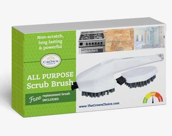 Bathtub Cleaning Brush - all purpose cleaning scrub brush for bathroom, kitchen and home 5