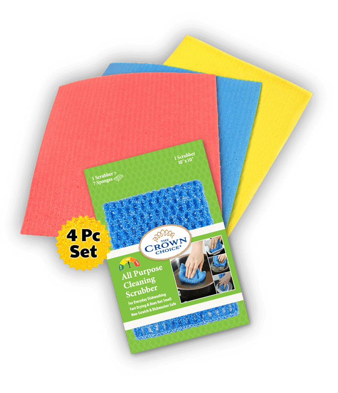 all purpose sponge cloth cleaning bundle