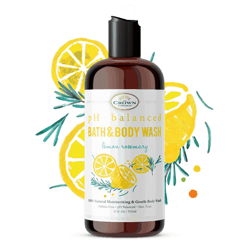Body Wash for Sensitive Skin and Dryness – LEMON ZEST 2