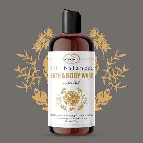 Best Unscented Body Wash - Natural and fragrance free shower gel 2