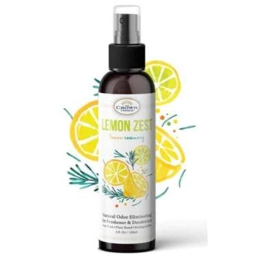 lemon zest air freshener non toxic natural