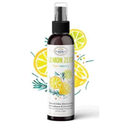 lemon zest air freshener non toxic natural