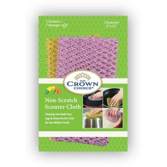 Pot Scrubber – Non-Scratch Heavy Duty Nylon Scrub Cloths