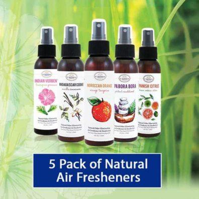 the crown choice air freshener 5 pack