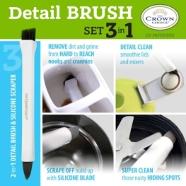 Best tile cleaning brush combo – 4 piece set 12