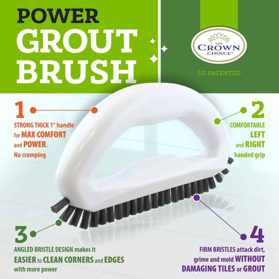 Best tile cleaning brush combo – 4 piece set 5