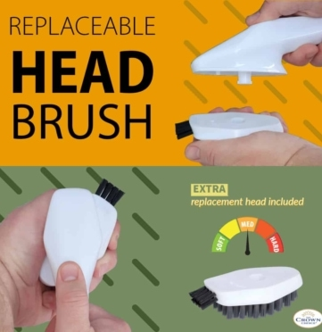 Bathtub Cleaning Brush - all purpose cleaning scrub brush for bathroom, kitchen and home 4