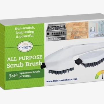 Bathtub Cleaning Brush - all purpose cleaning scrub brush for bathroom, kitchen and home 3