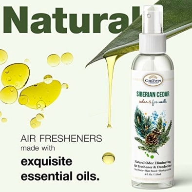 Natural Cedar Oil Spray – Gentle, Non Toxic Essential Oils for Closet, Room, Wood, Drawers 5