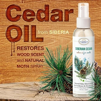 Natural Cedar Oil Spray – Gentle, Non Toxic Essential Oils for Closet, Room, Wood, Drawers 7