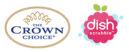 The Crown Choice Hard Water Stain Remover & Non Scratch Scourer 1