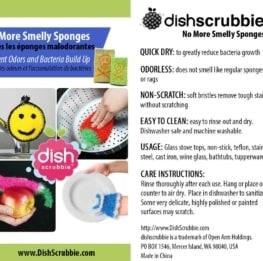 Dish Scrubbie Mix Packs - No odors fruit shaped crochet pot scrubber 8