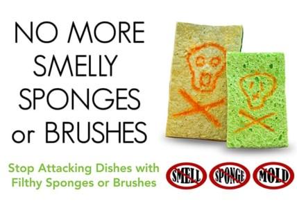 no more smelly sponges