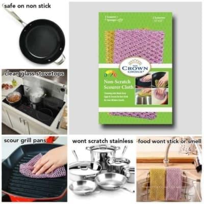 Non-Scratch Scouring Pad Set