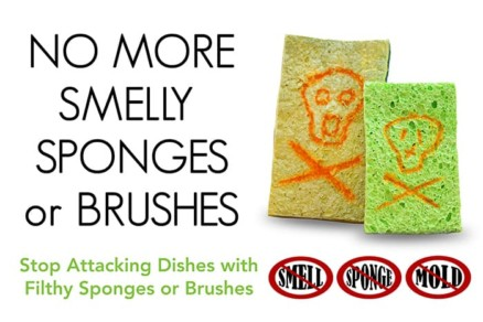 no more smelly sponges