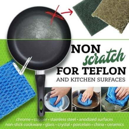 non scratch dish cloth