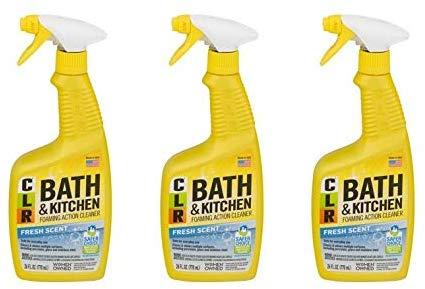 CLR Bath and Kitchen Cleaner Yellow bottle