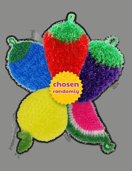 dish scrubbie fruit scrubber packs