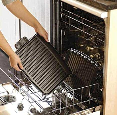 dish washer grill cleaning