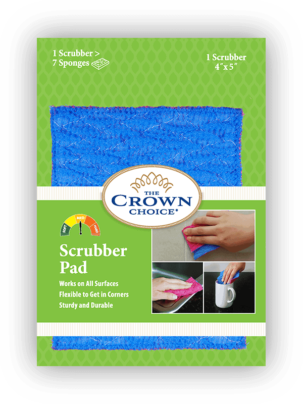 home scrubber pad crown choice
