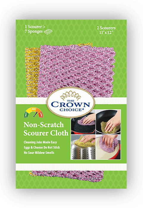 non scratch scrourer the crown choice