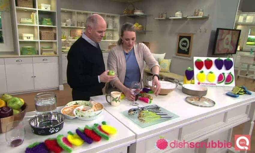 Lemon Dish Scrubbie | Hand Crocheted Long Lasting Scrubber