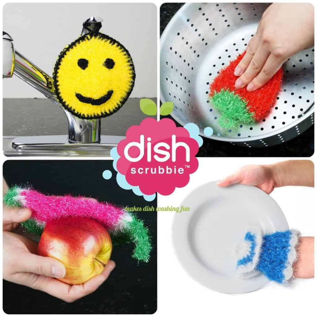 Dish Scrubbie Packs   No Odor Net Cloth Scrubber, Washcloth, Dish Rag Cloths