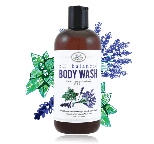 ph balanced soap liquid body wash the crown choice