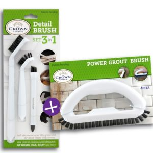 tile cleaning brush grout set bundle the crown choice